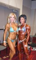 Tatiana Stone (L) - Dana Linn Bailey (R)